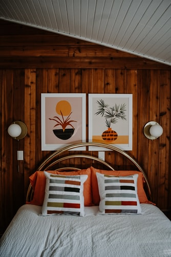 Inside the bungalow is quite comfortable and modern.  Photo: @jacalynbeales.