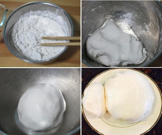 When adding water to knead the dough, you should not pour all the water in at once, because it is difficult to find the right amount of water