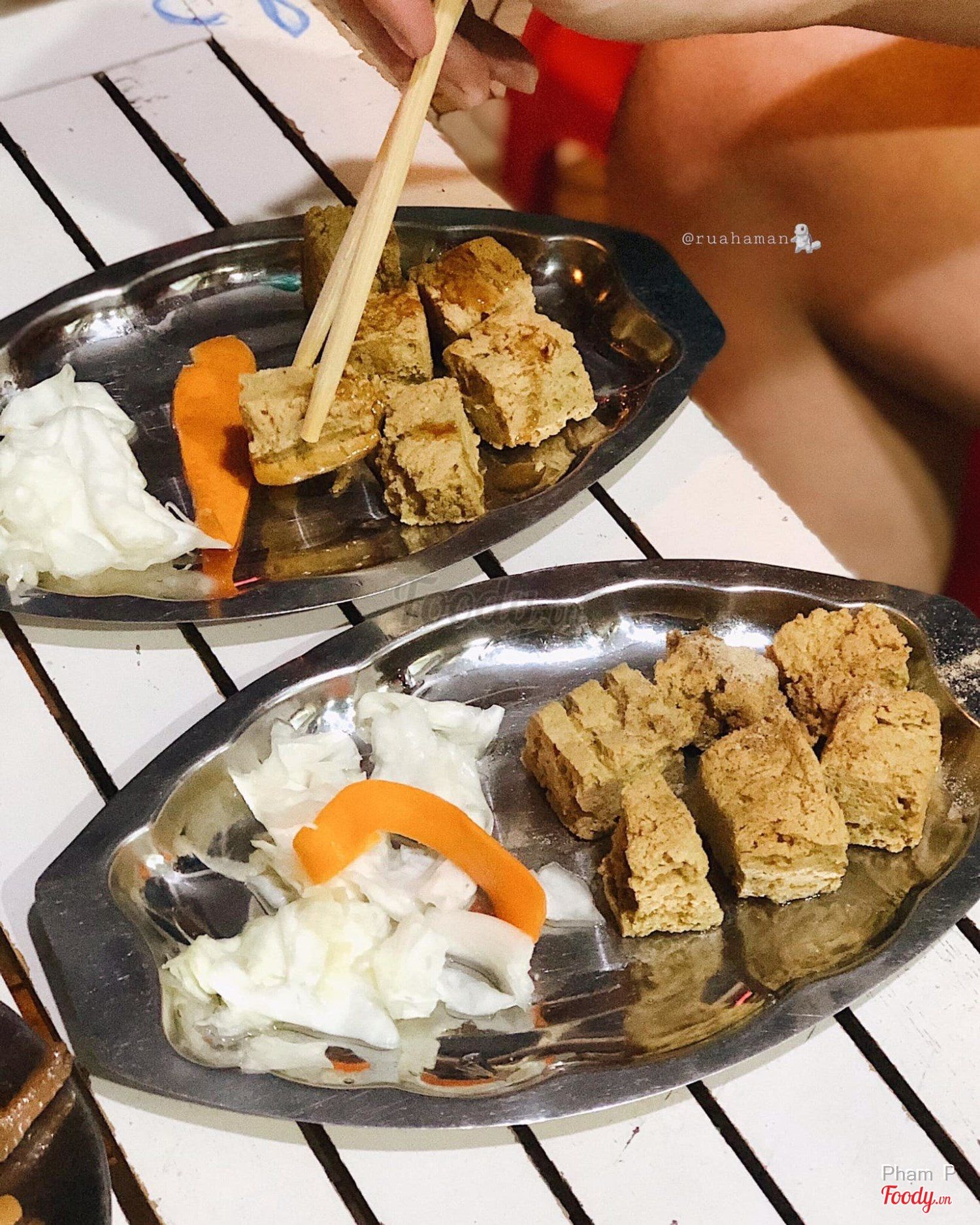 Food blogger recommends choosing salt shake and smoked to reduce the smell of rotten tofu