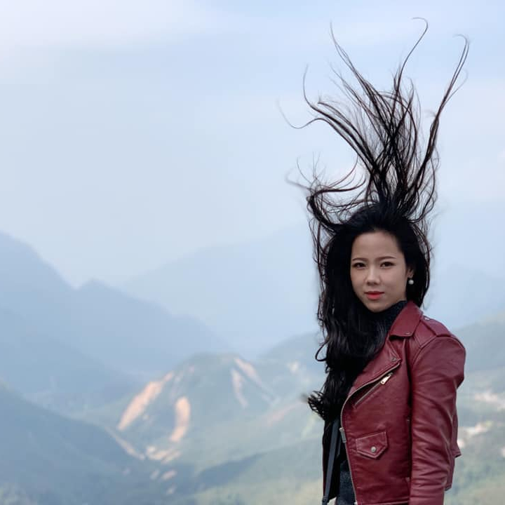 This is the check-in picture of Sapa that many people are interested in, because the hair is flying like it's not flying, as if it is styled