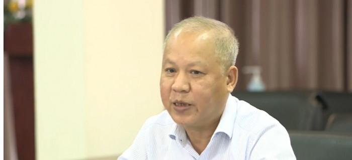 Mr. Vo Huy Cuong at the seminar.  Photo: Traffic Newspaper.